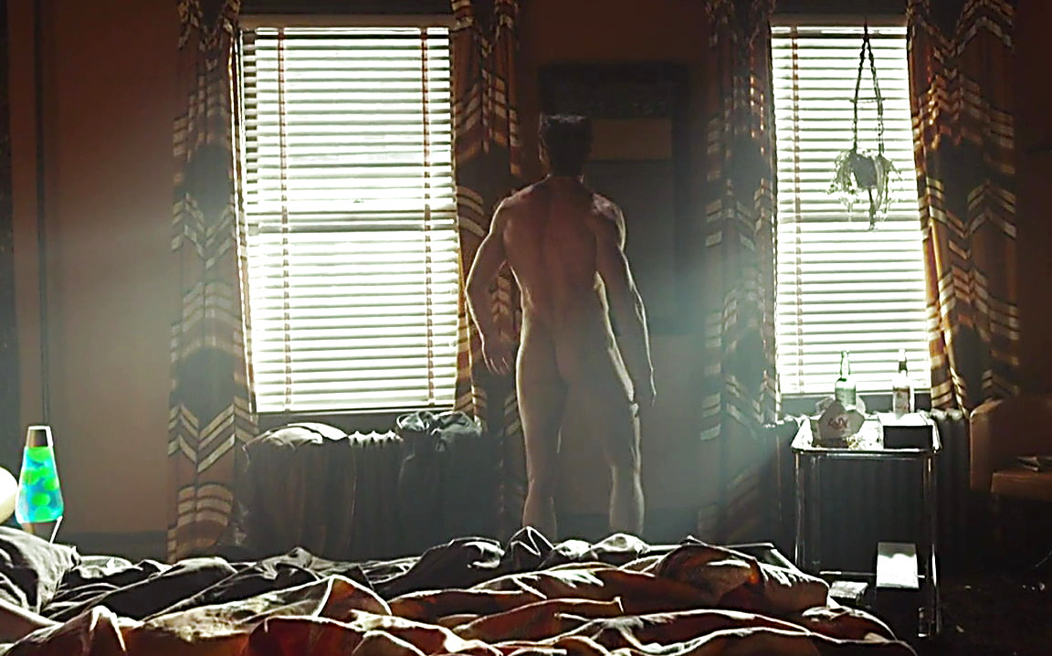 Hugh Jackman sexy shirtless scene August 17, 2014, 10pm