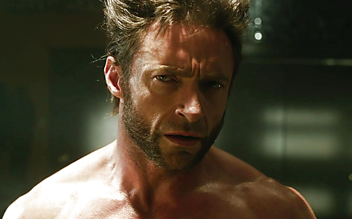 Hugh jackman body days of future past