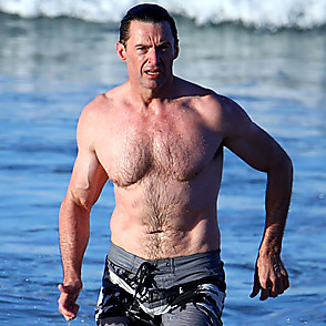 Hugh Jackman latest sexy shirtless July 25, 2018, 2am