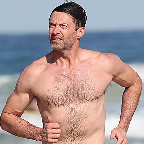 Hugh Jackman latest sexy shirtless August 1, 2019, 12am