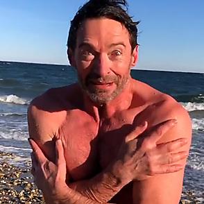 Hugh Jackman latest sexy shirtless December 1, 2019, 10am
