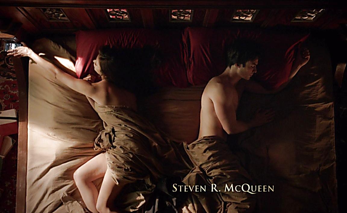 Ian Somerhalder sexy shirtless scene April 5, 2014, 11pm
