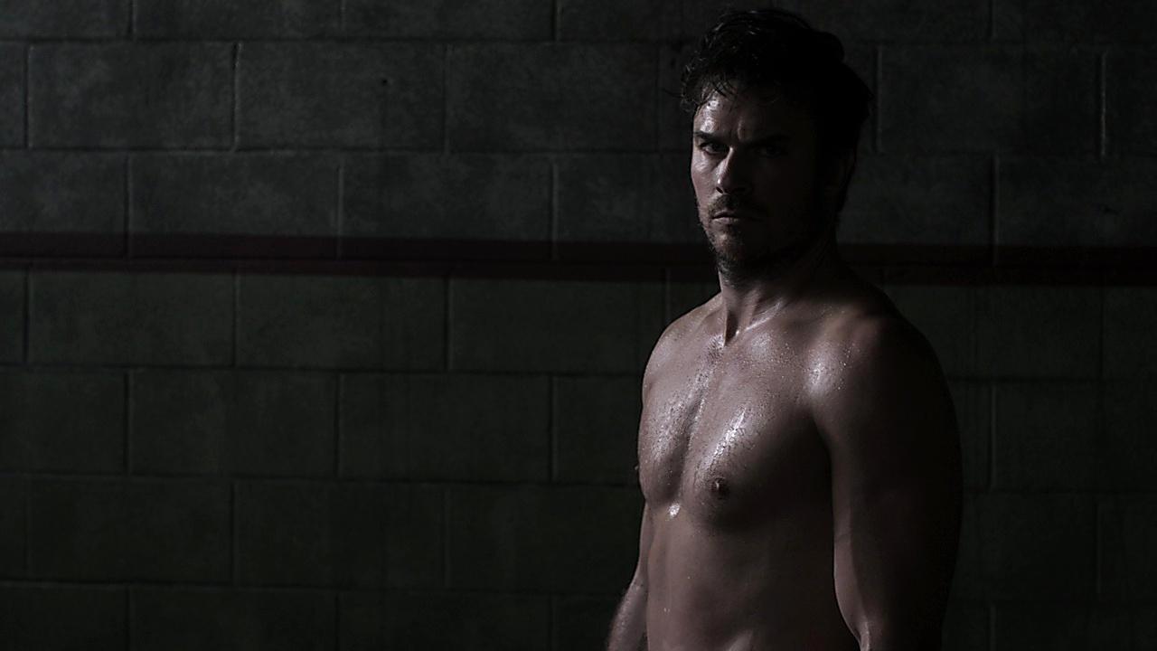 Ian Somerhalder sexy shirtless scene December 21, 2019, 6am