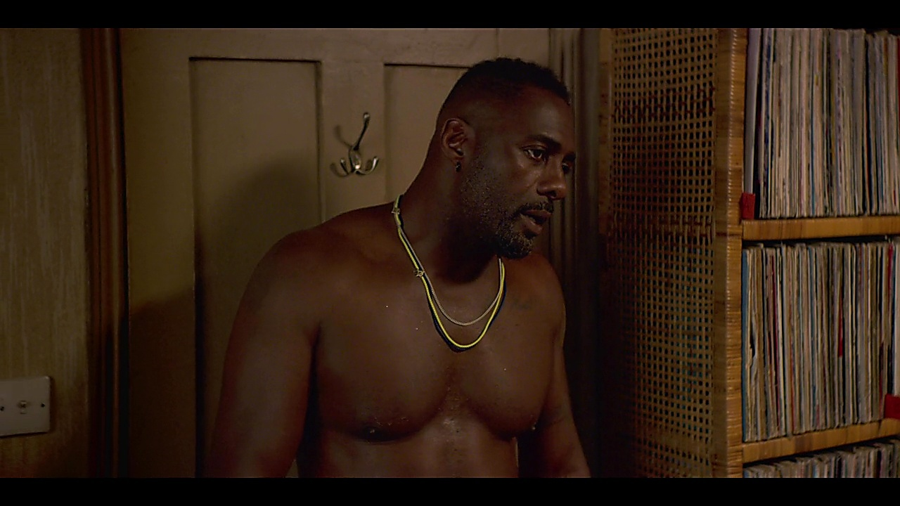 Idris Elba sexy shirtless scene March 15, 2019, 12pm