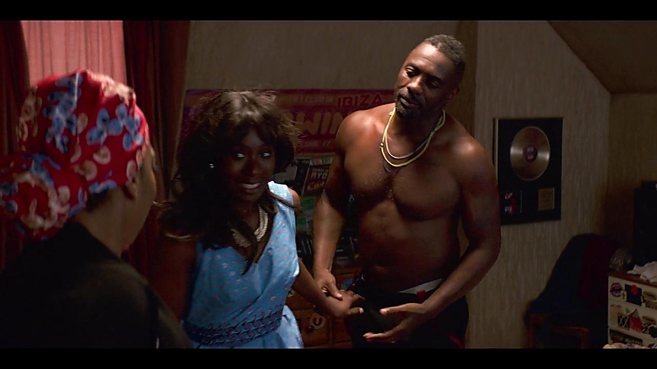 Idris Elba sexy shirtless scene March 15, 2019, 12pm