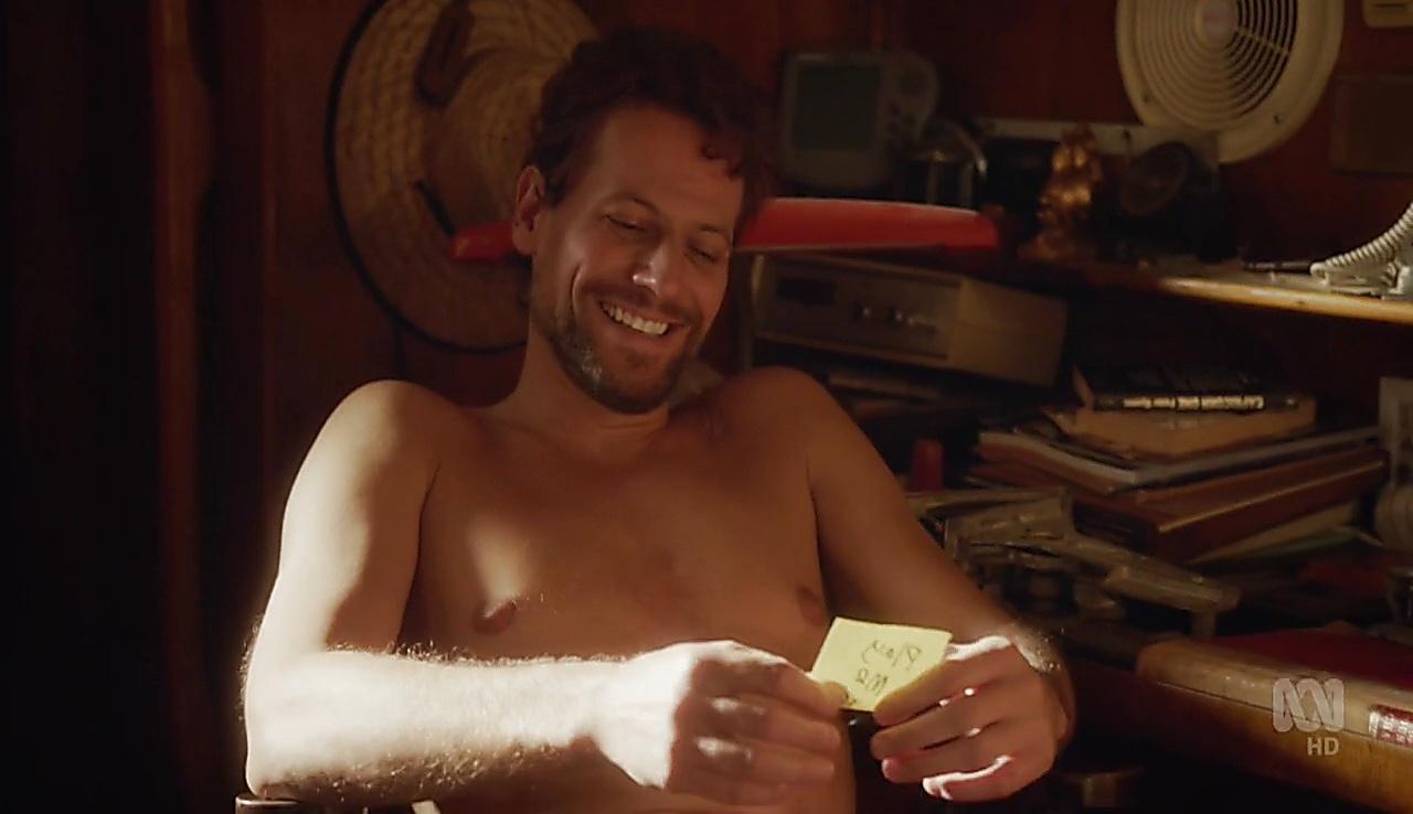 Ioan Gruffudd sexy shirtless scene April 7, 2018, 12pm