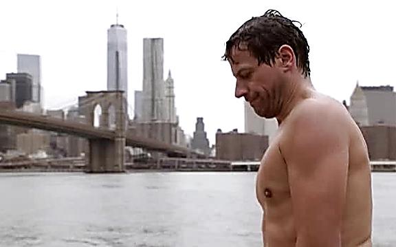 Ioan Gruffudd sexy shirtless scene September 1, 2014, 1pm