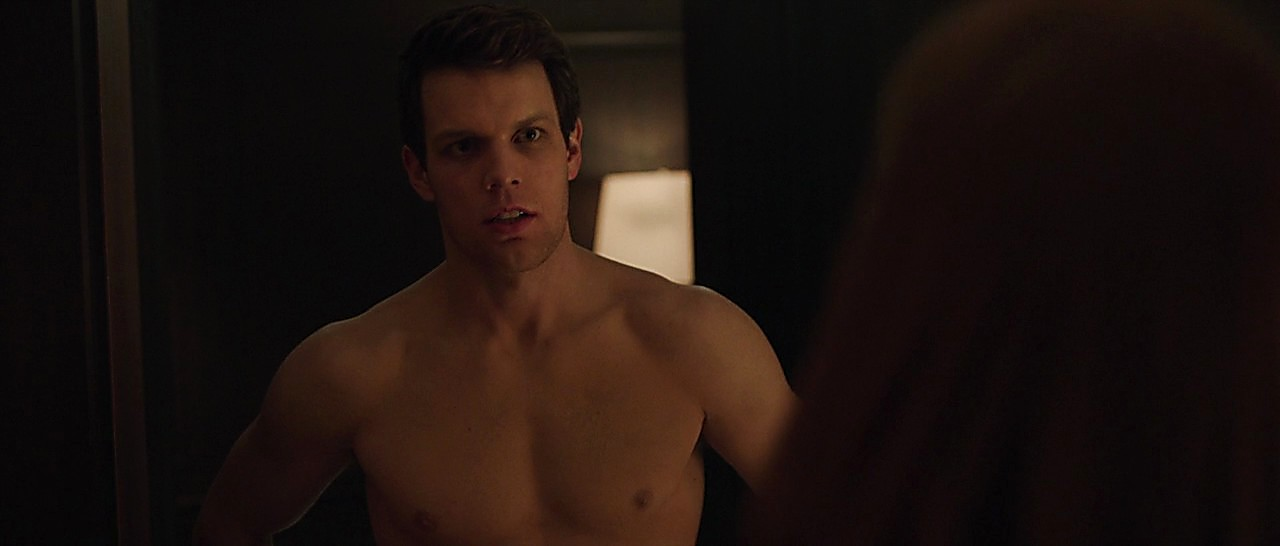 Jake Lacy sexy shirtless scene March 10, 2017, 12pm