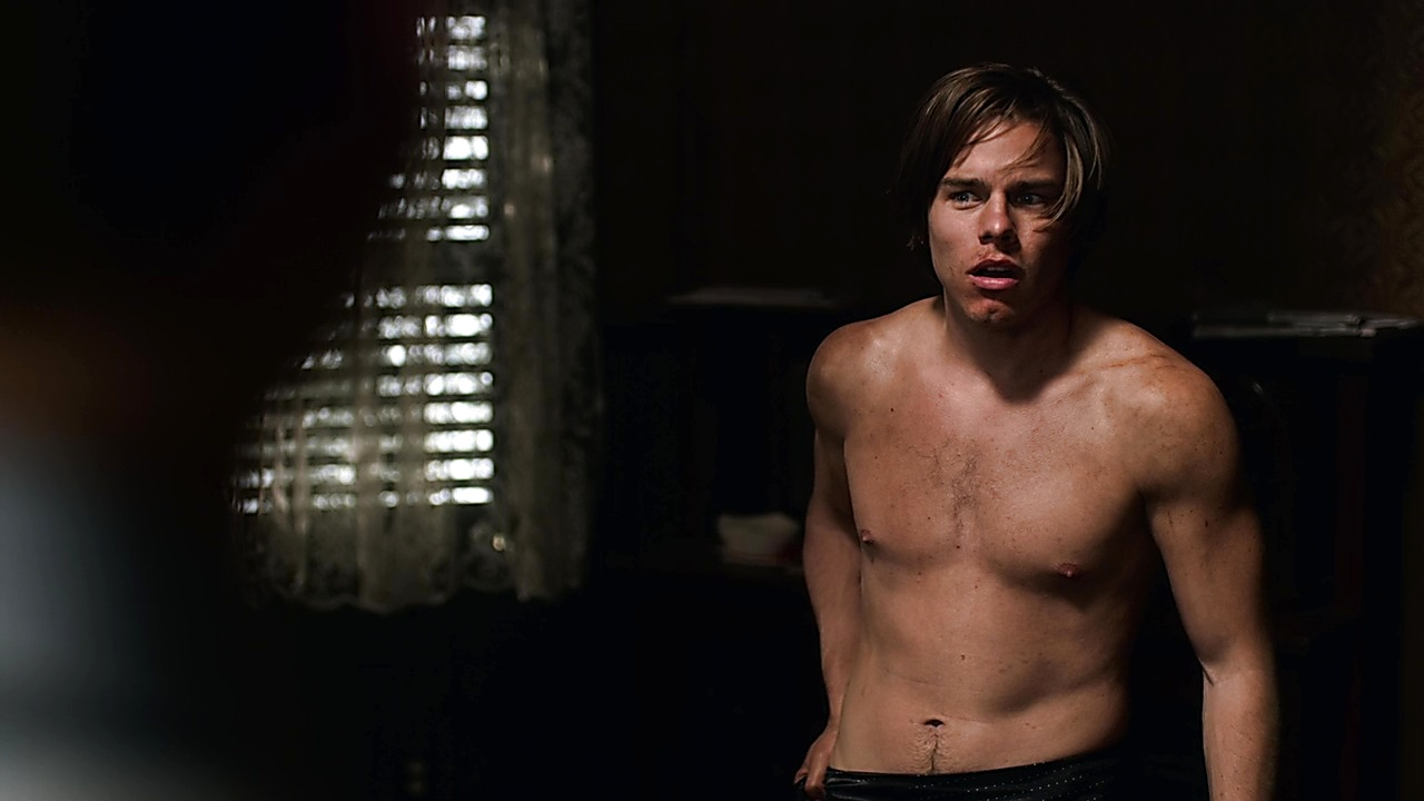 Jake Manley sexy shirtless scene March 7, 2019, 11am