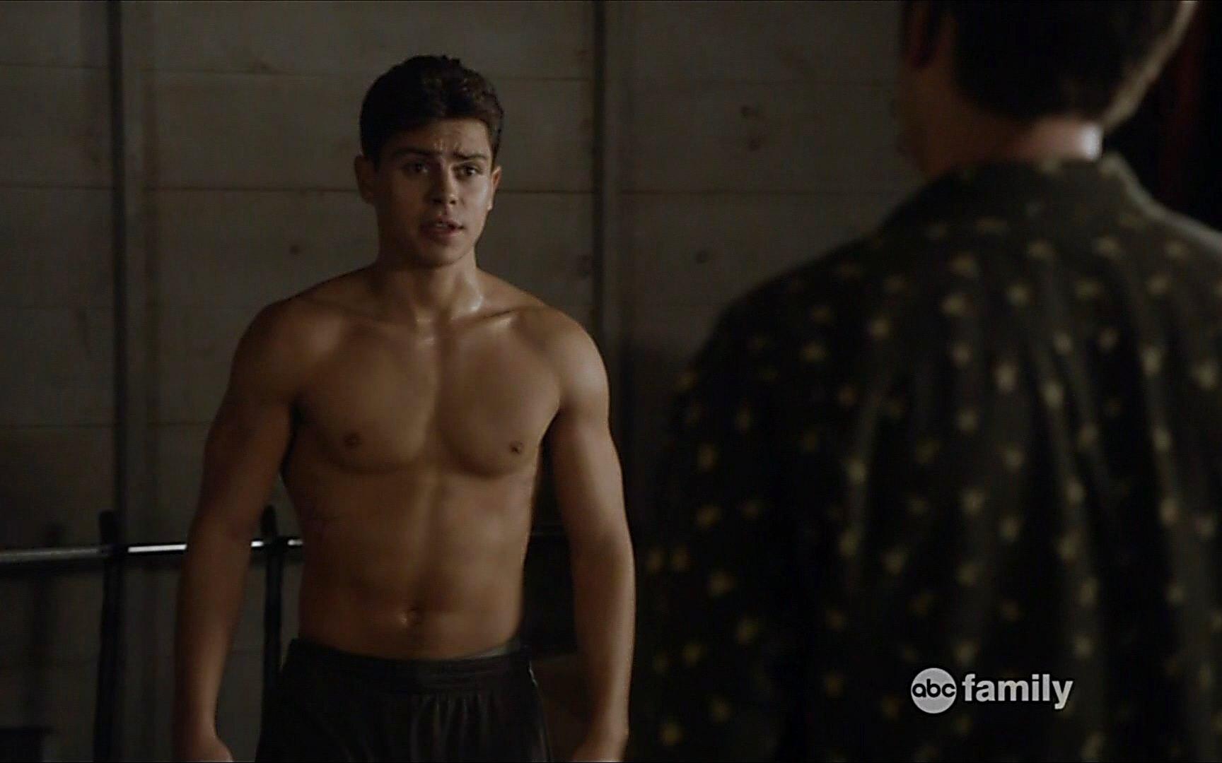Jake T Austin sexy shirtless scene February 23, 2015, 10pm