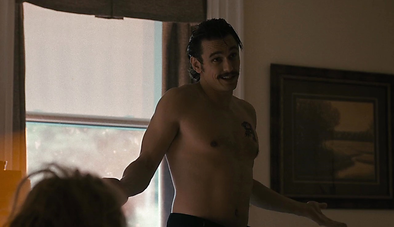 James Franco sexy shirtless scene October 25, 2017, 12pm