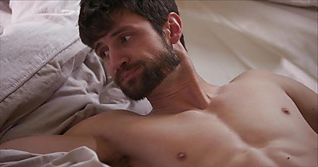 James Lafferty sexy shirtless scene January 13, 2021, 5am