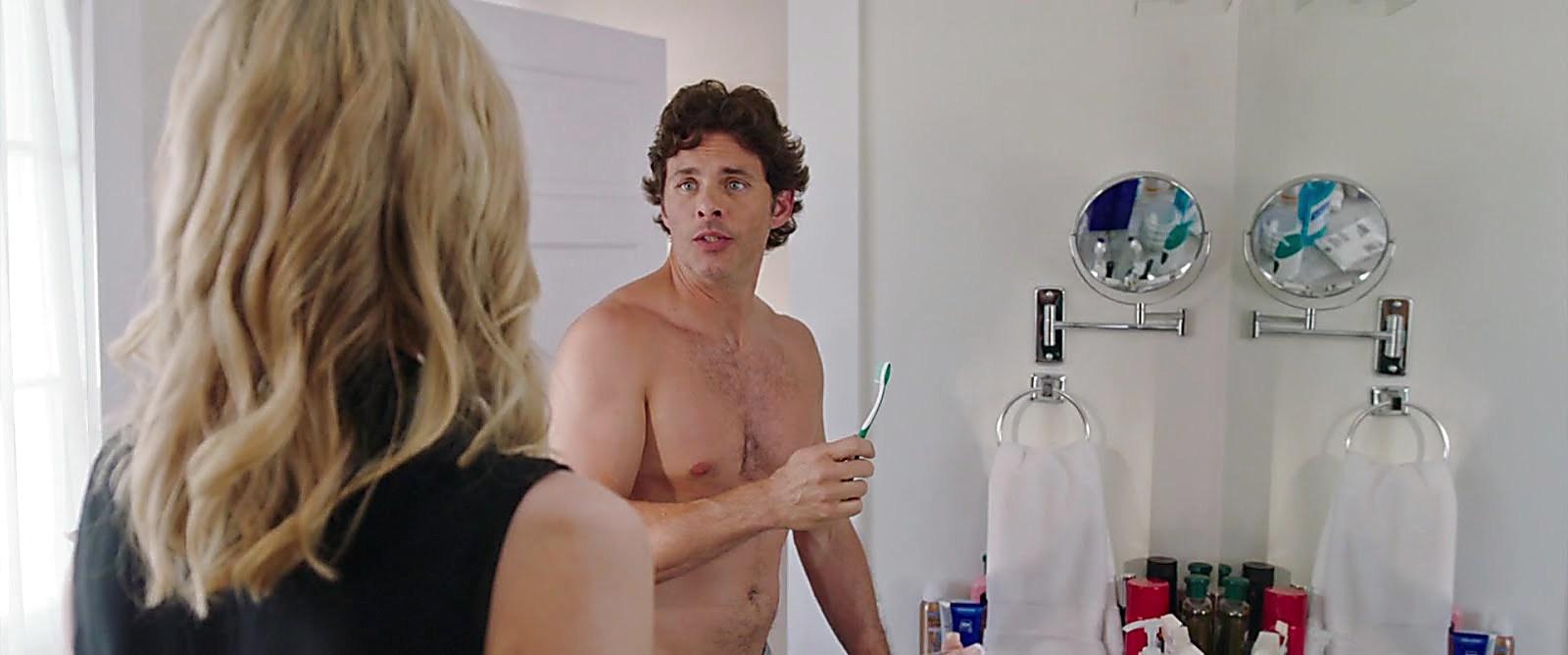 James Marsden sexy shirtless scene February 18, 2018, 11am