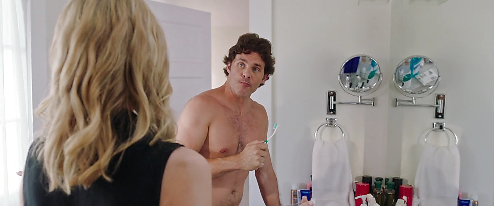 James Marsden sexy shirtless scene February 18, 2018, 11am