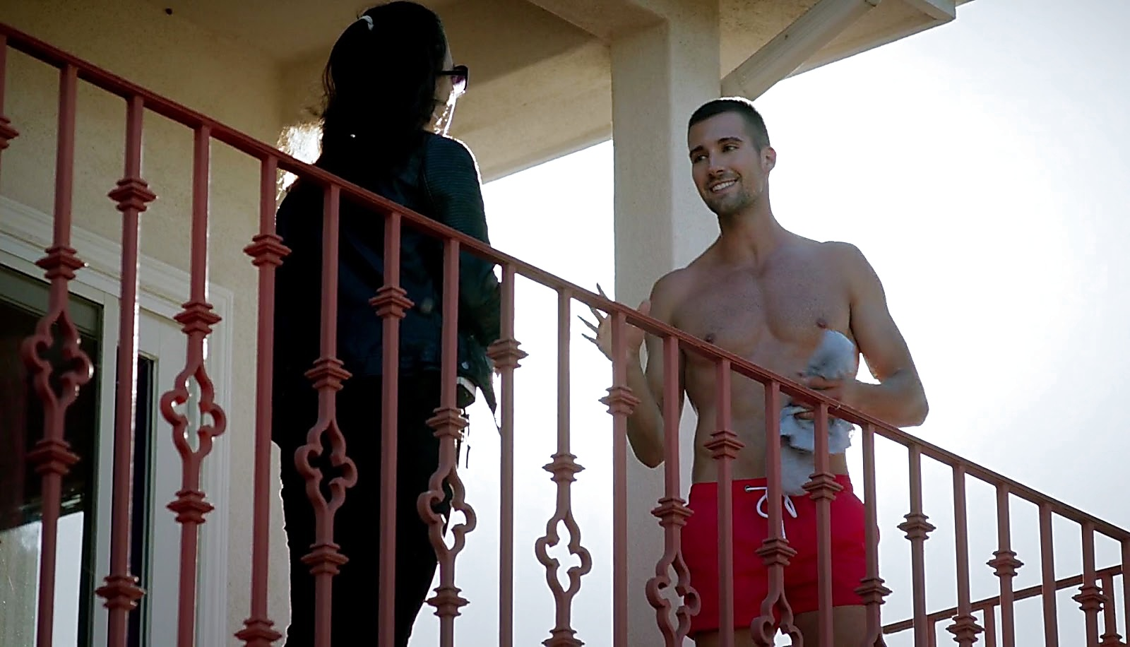 James Maslow sexy shirtless scene February 24, 2017, 1pm