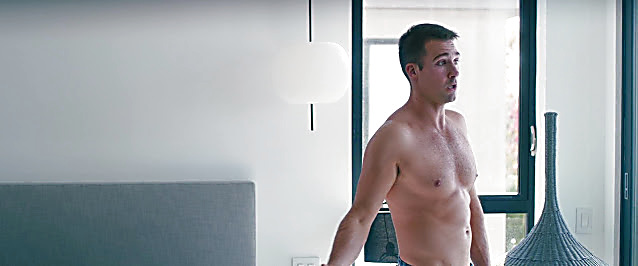 James Maslow sexy shirtless scene January 8, 2021, 5am
