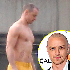 James Mcavoy latest sexy shirtless November 8, 2017, 6pm