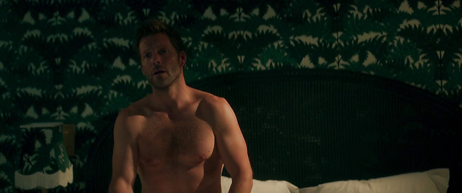 Jamie Bamber sexy shirtless scene July 19, 2017, 11am