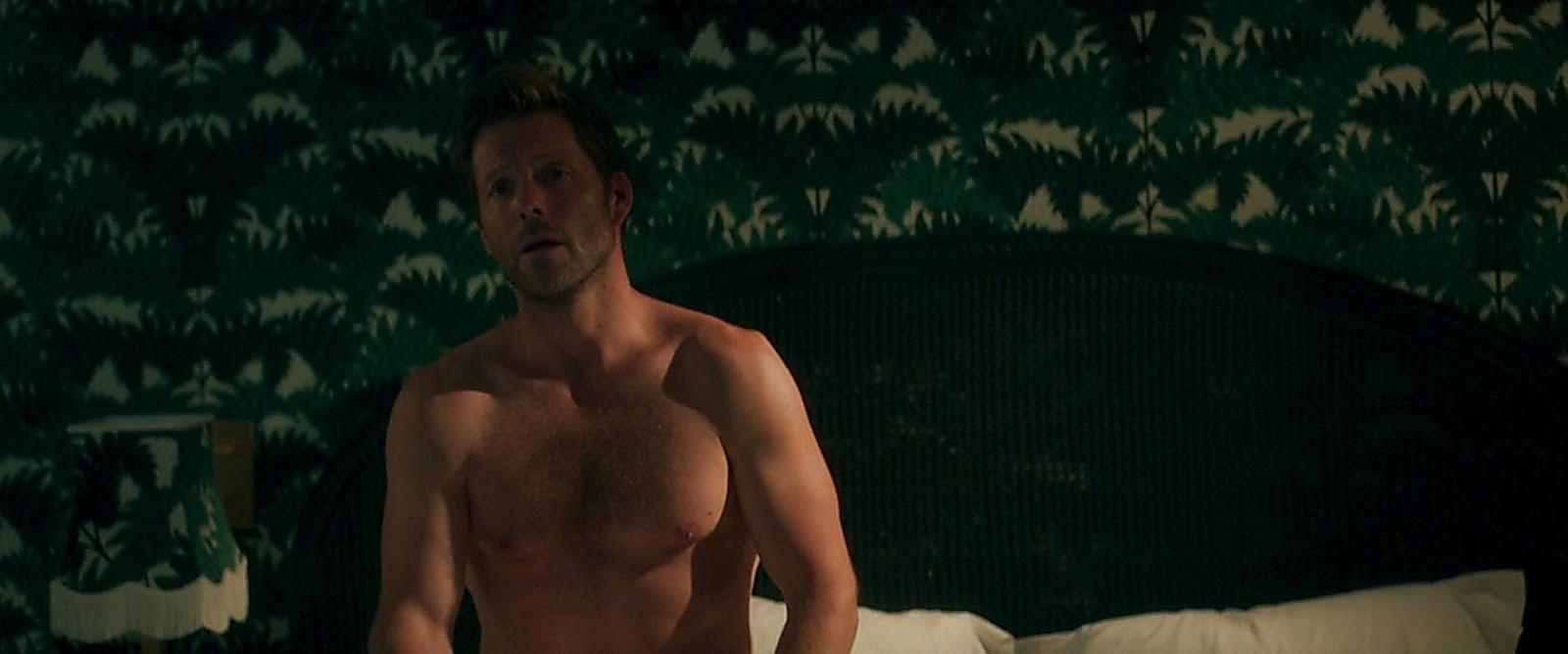 Jamie Bamber sexy shirtless scene July 19, 2017, 11am