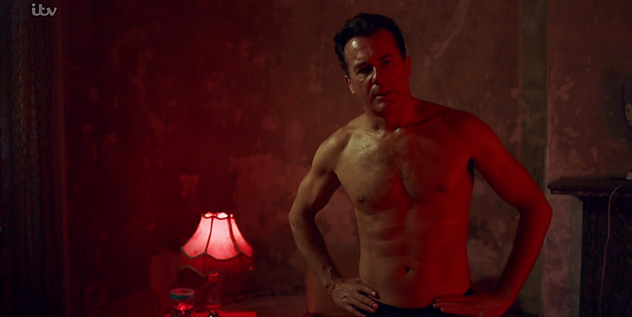 Jamie Bamber sexy shirtless scene February 24, 2018, 12pm