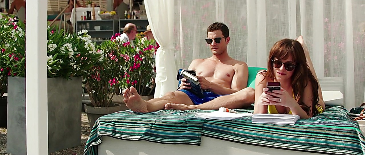 Jamie Dornan sexy shirtless scene April 7, 2018, 11am