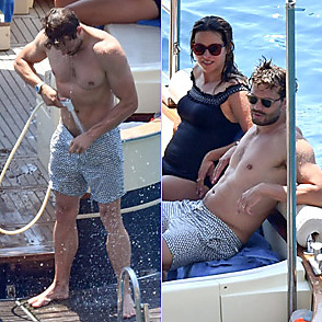 Jamie Dornan latest sexy shirtless August 9, 2018, 11am