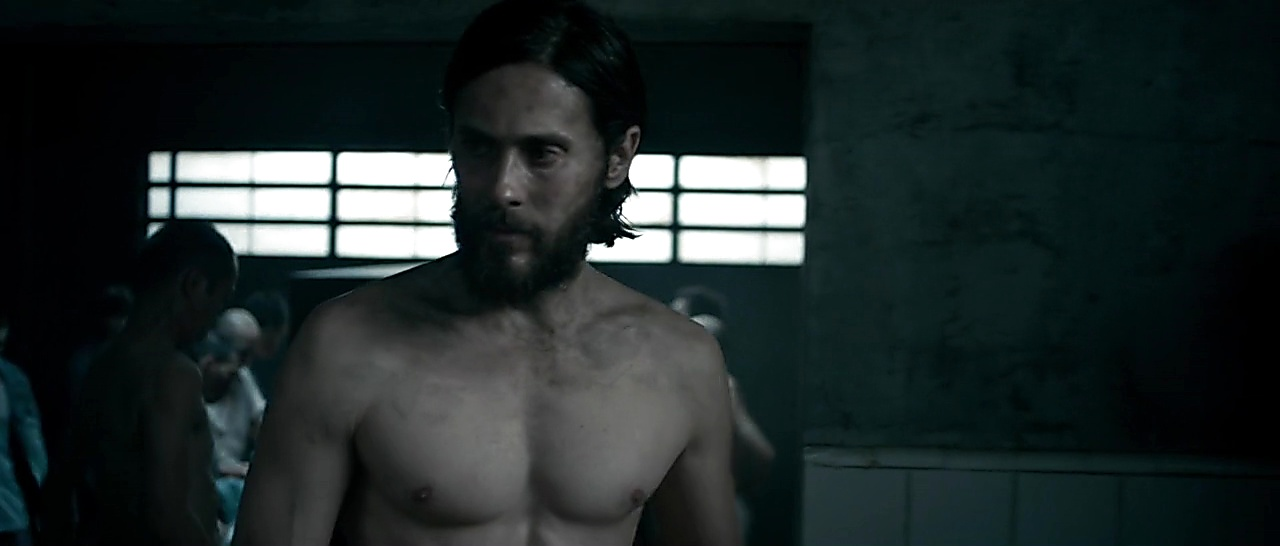 Jared Leto sexy shirtless scene March 9, 2018, 11am