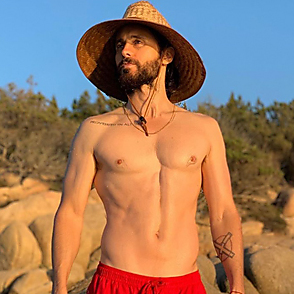 Jared Leto latest sexy shirtless August 20, 2019, 8pm