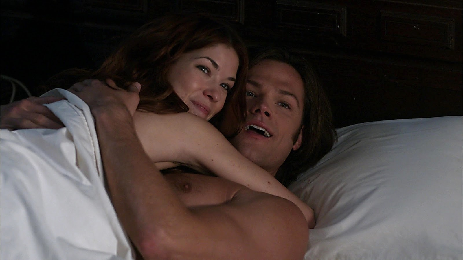 Jared Padalecki sexy shirtless scene April 11, 2020, 12pm