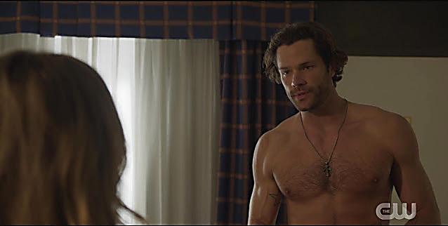 Jared Padalecki sexy shirtless scene February 19, 2021, 5am