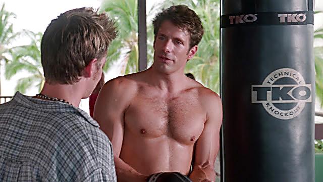Jason Brooks sexy shirtless scene April 11, 2021, 5am