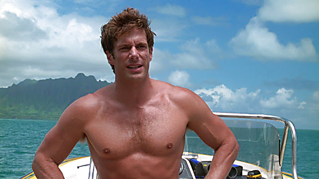 Jason Brooks sexy shirtless scene April 11, 2021, 6am