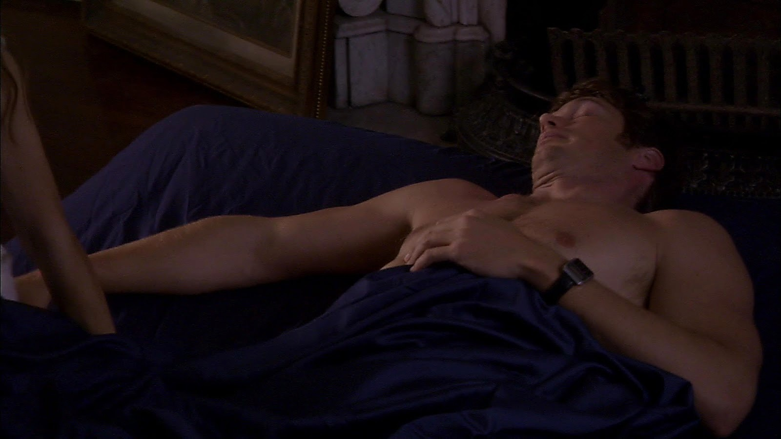 Jason Lewis sexy shirtless scene March 7, 2019, 9am