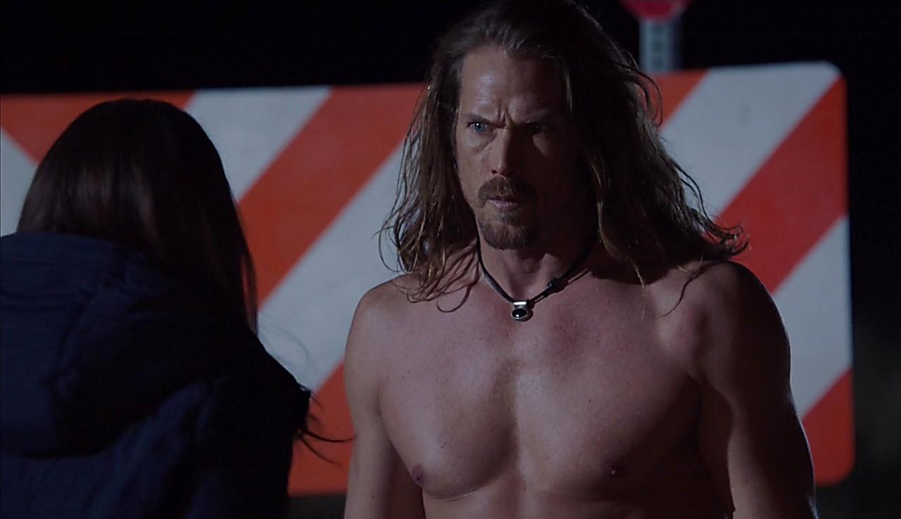 Jason Lewis sexy shirtless scene August 29, 2017, 3am