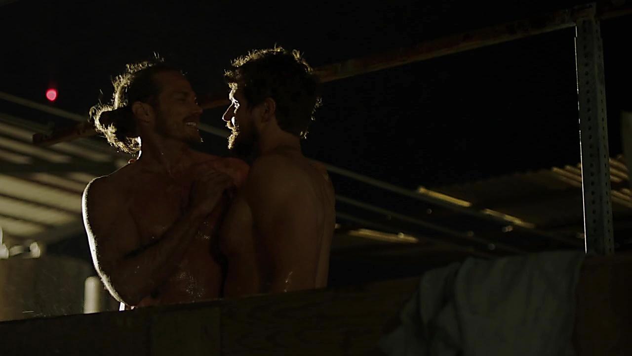 Jason Lewis sexy shirtless scene November 11, 2018, 1pm