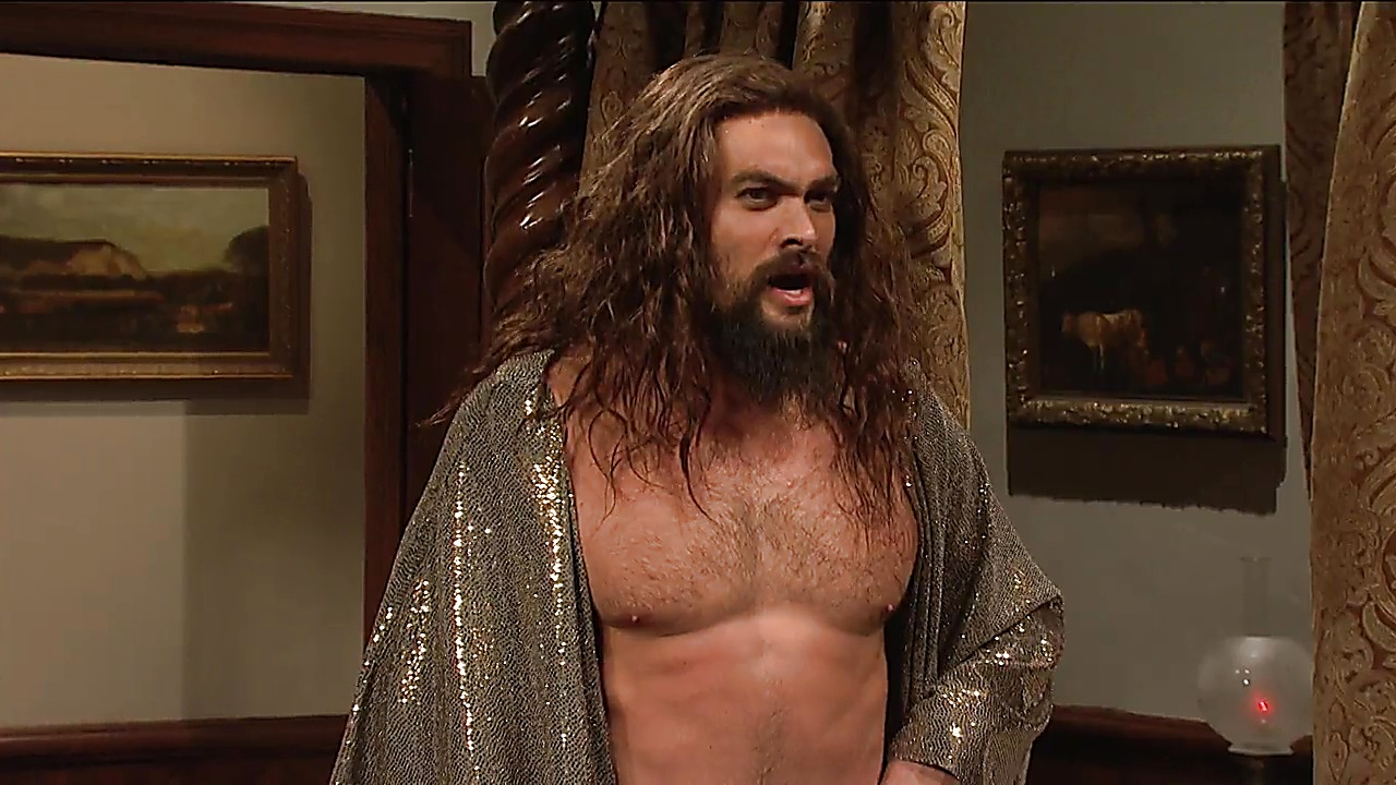 Jason Momoa Saturday Night Live S044E08 2018 12 10 1