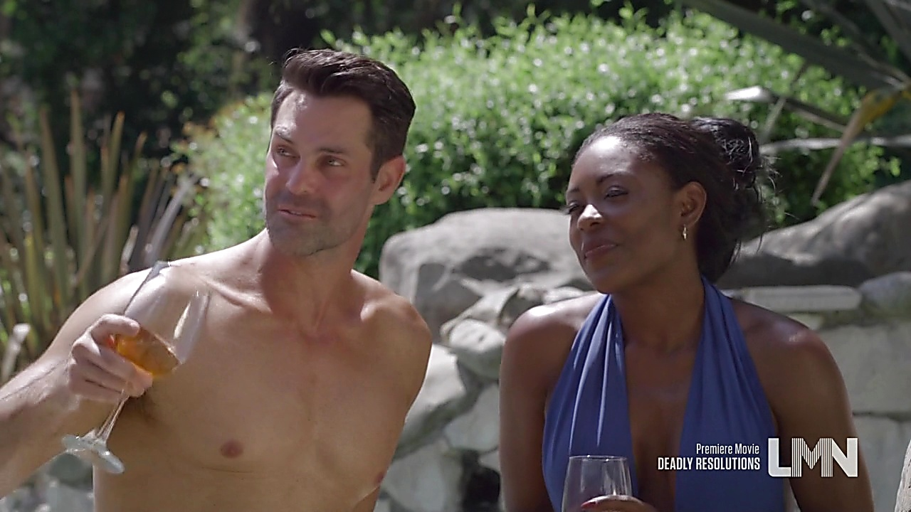 Jason Shane Scott sexy shirtless scene January 26, 2020, 1pm