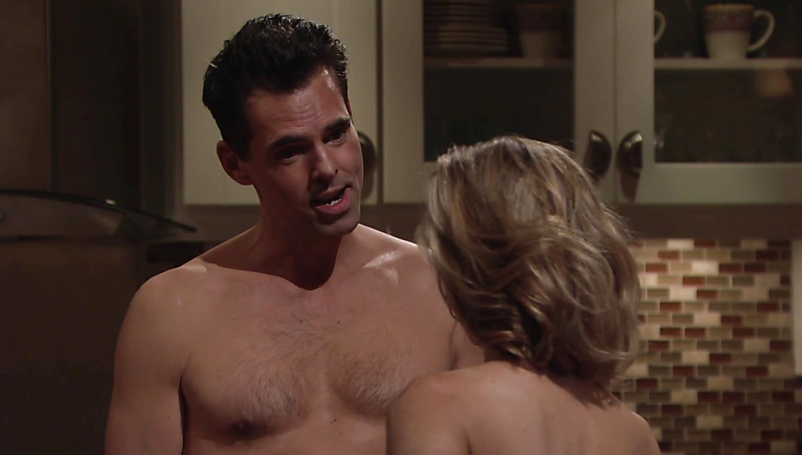 Jason Thompson sexy shirtless scene June 30, 2018, 1pm