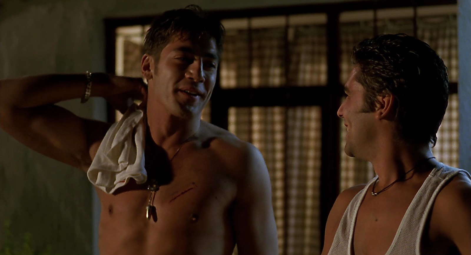 Javier Bardem sexy shirtless scene May 10, 2019, 7am