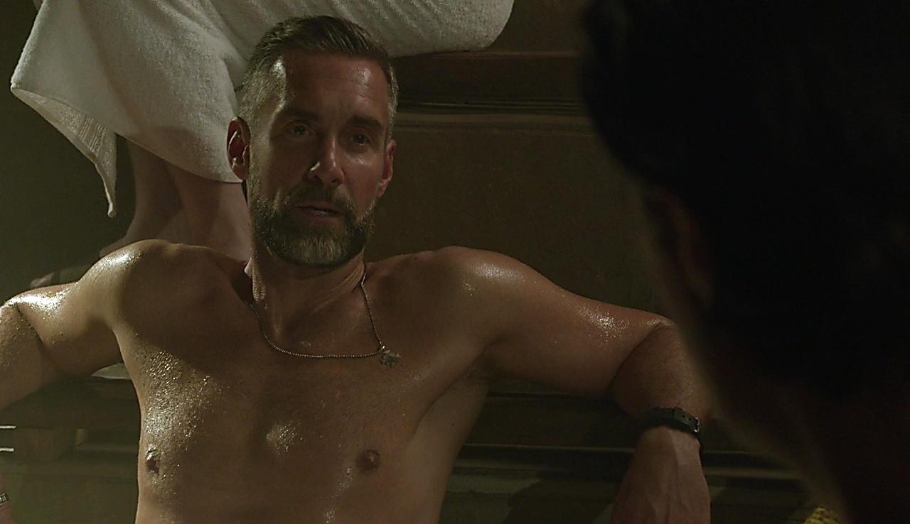 Jay Harrington sexy shirtless scene April 27, 2018, 1pm