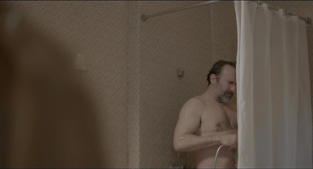 Jean Dujardin sexy shirtless scene November 2, 2019, 1pm