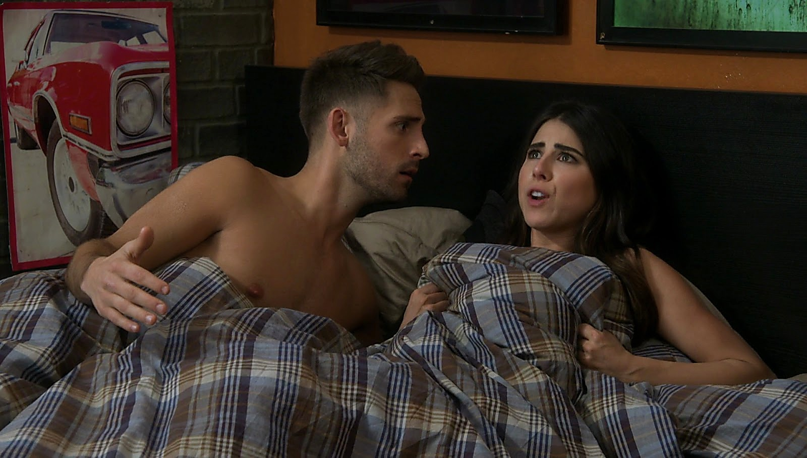 Jean Luc Bilodeau latest sexy shirtless scene April 11, 2017, 12pm