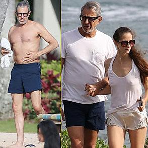 Jeff Goldblum latest sexy shirtless June 9, 2018, 3am