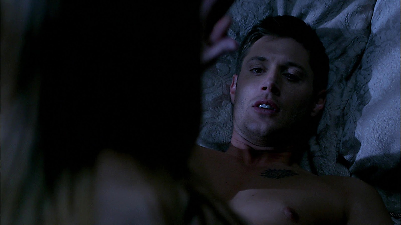 Jensen Ackles sexy shirtless scene July 22, 2020, 4am