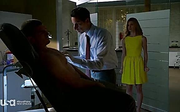Jeremy Davidson sexy shirtless scene August 24, 2014, 9pm