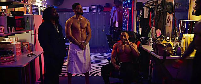 Jeremy Williams sexy shirtless scene September 23, 2021, 5am