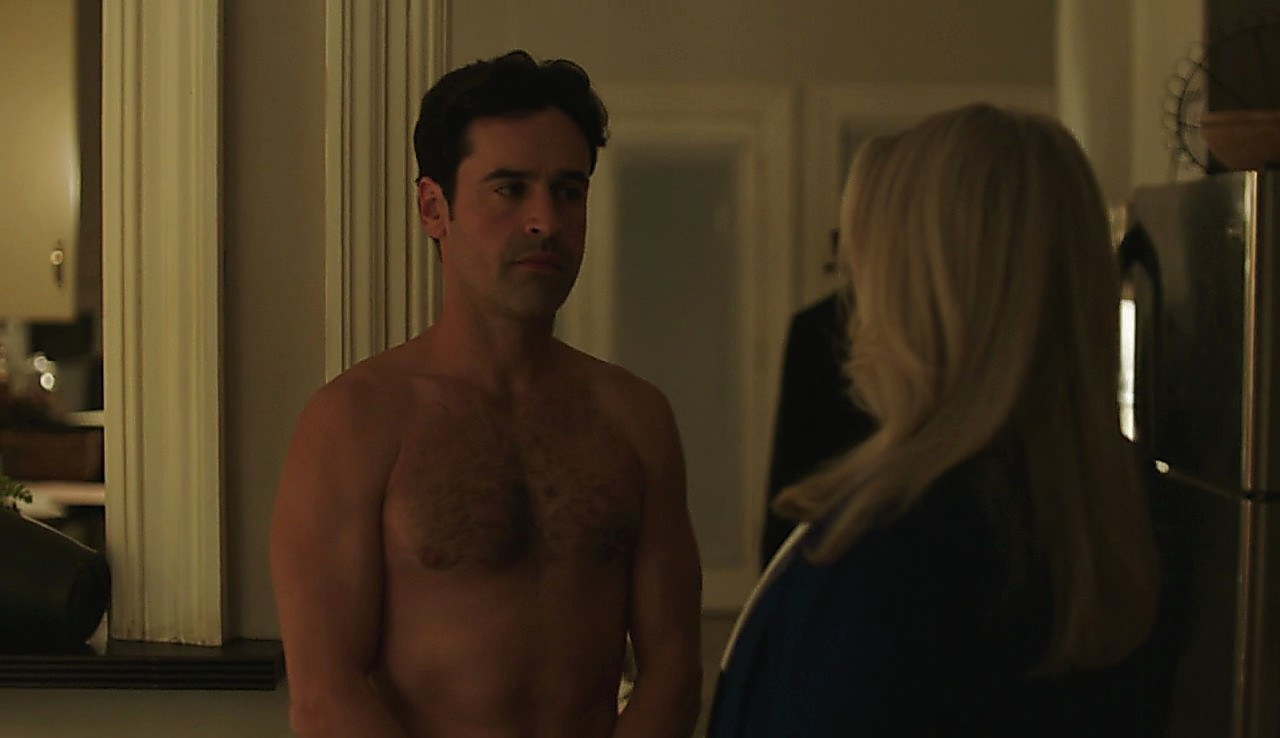 Jesse Bradford sexy shirtless scene August 2, 2017, 3pm