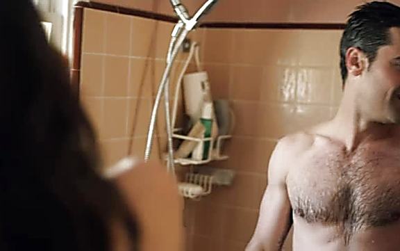 Jesse Bradford sexy shirtless scene August 24, 2014, 10pm