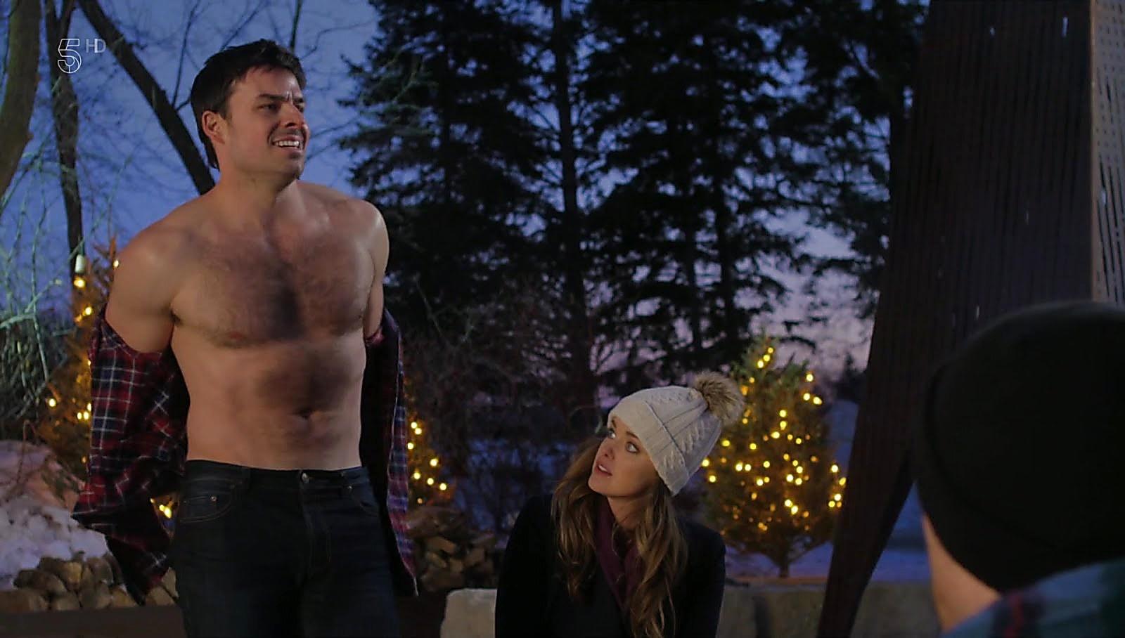 Jesse Hutch latest sexy shirtless scene December 3, 2017, 1pm