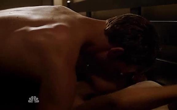 Jesse Spencer sexy shirtless scene October 17, 2014, 11pm